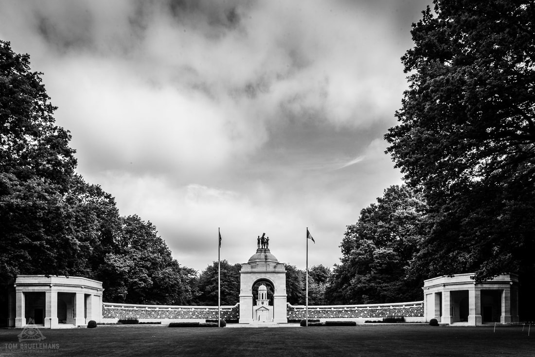 South African National Memorial at Delville Wood,  Longueval.